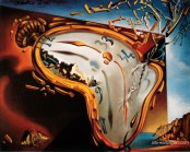 """The Melting Clock"" by Salvador Dali"